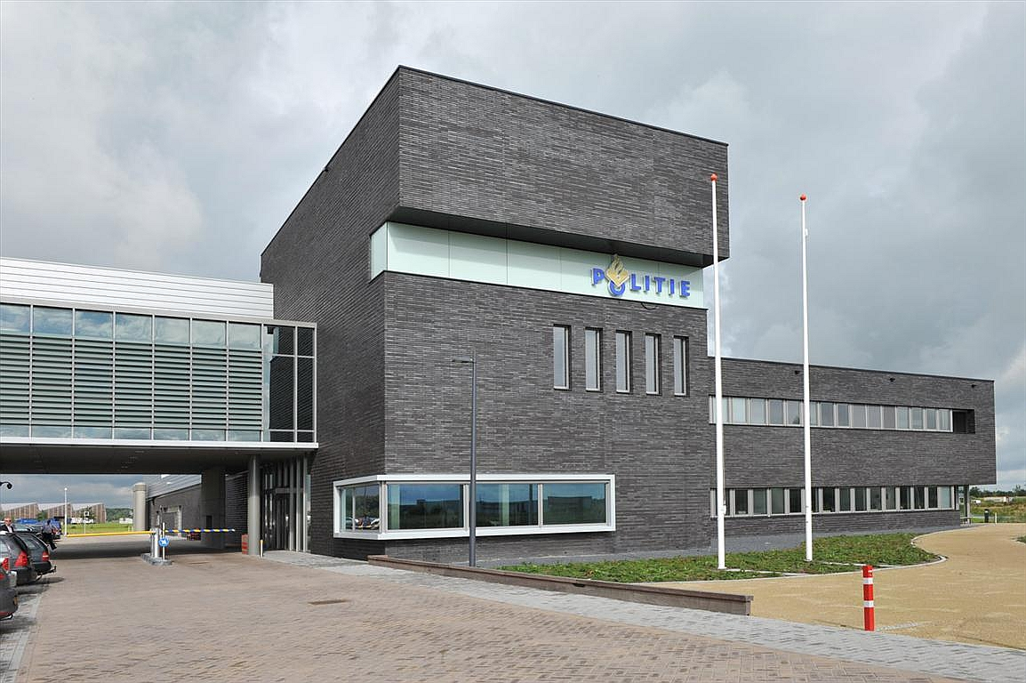 Fire Station and Police Office, Drachten